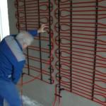 Inštalácia stenového vykurovania